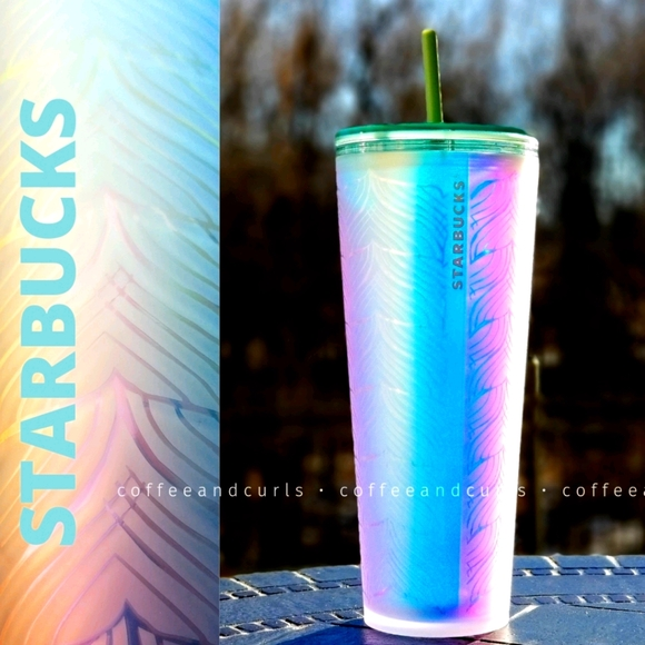 SB Undersea Tail Plastic Soft Touch Cold Cup Venti